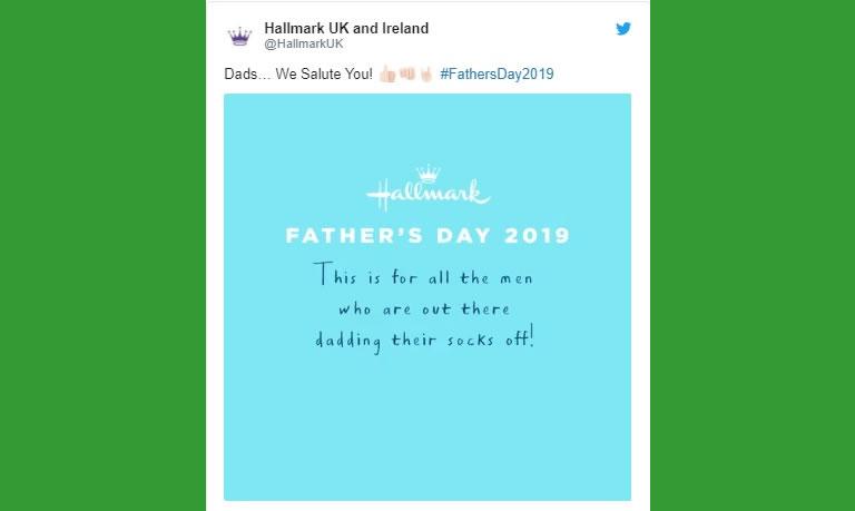 Hallmark festa del papà